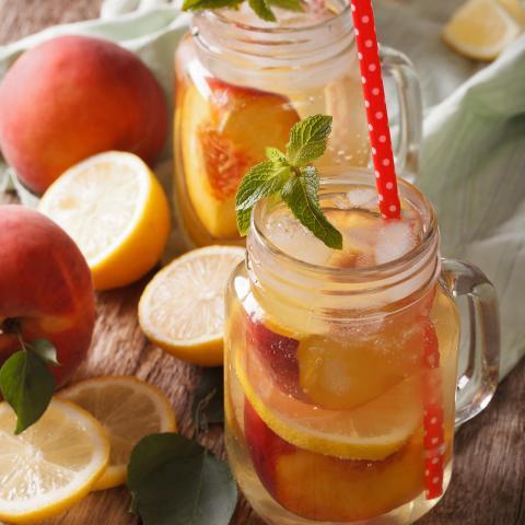 Light Peach Lemonade