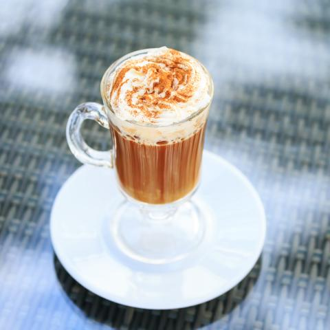 Sugar Free Irish Cream Latte