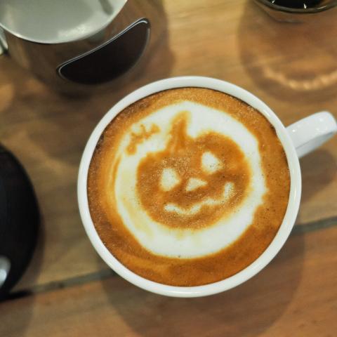 Jack-o'-Lantern Latte