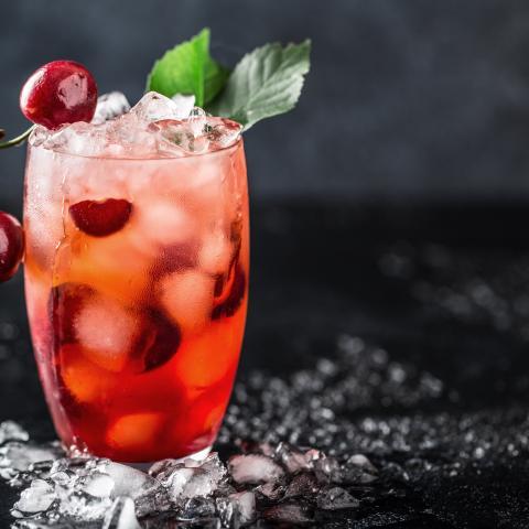 Light Black Cherry Lemonade
