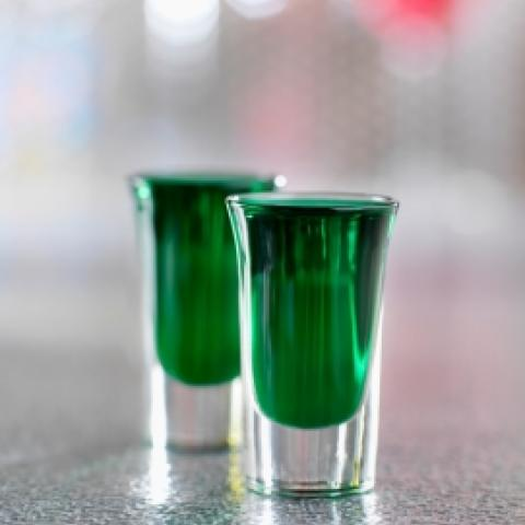 Green & Gold Shooter