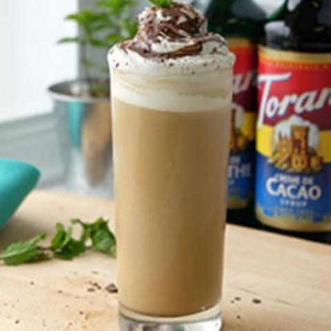 Iced Grasshopper Latte