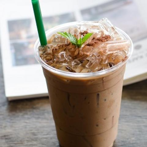 Iced Chocolate Mint Latte