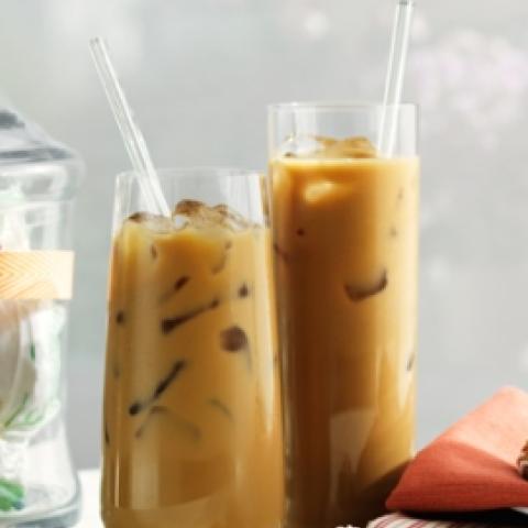 Skinny Brown Sugar Cinnamon Iced Coffee