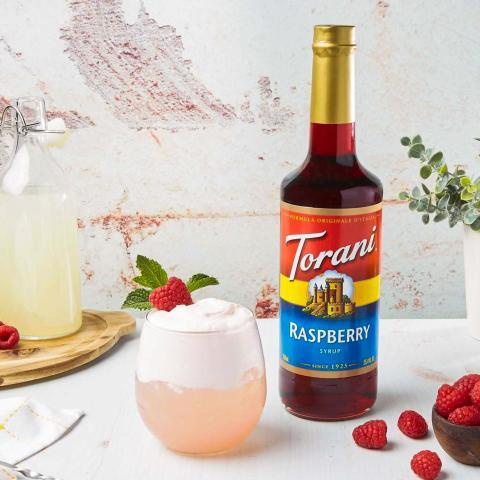 Raspberry Whipped Lemonade