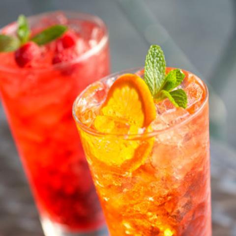 Huckleberry Italian Soda