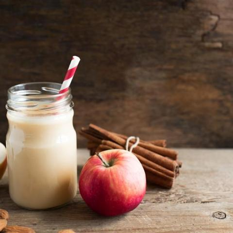 Gramma's Apple Pie Milkshake