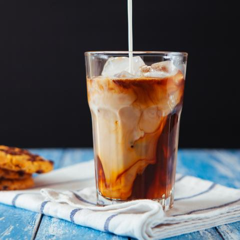 Iced Oatmeal Cookie Latte
