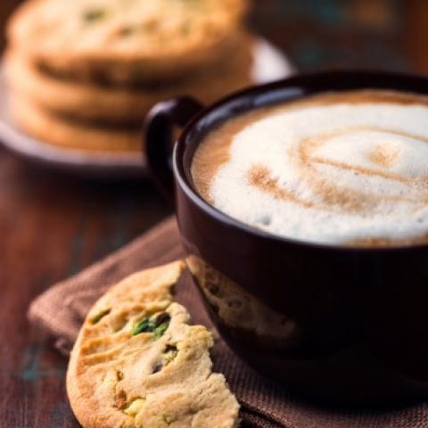Creamy Pistachio Latte