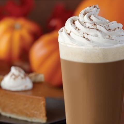 Sugar Free Pumpkin Pie Latte