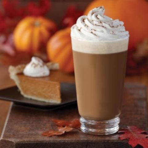 Pumpkin Spice Cheesecake Latte