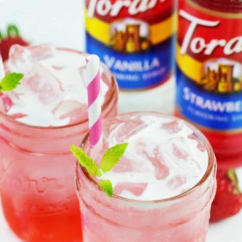 Strawberry and Cream Soda