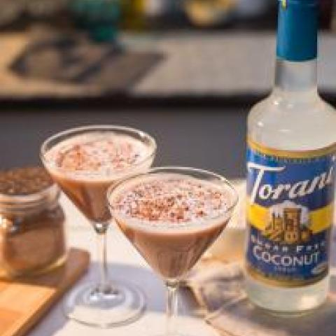 Coconut Cluster Martini