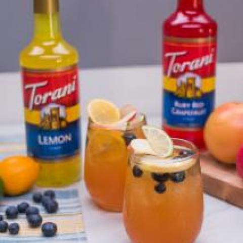 Lemon Grapefruit Shandy Sangria