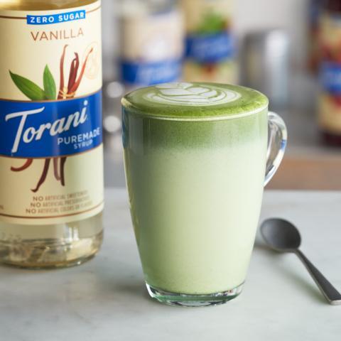 Zero Sugar Vanilla Matcha Latte
