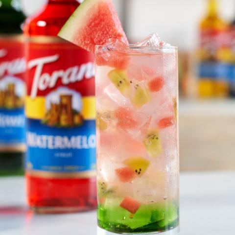 Watermelon Kiwi Lemonade