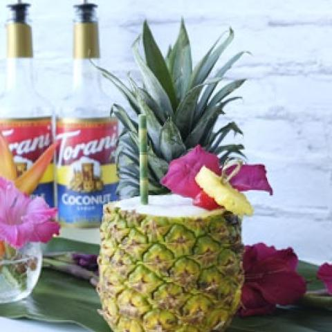 Torani Piña Colada (with a twist)