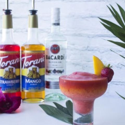 Torani Strawberry & Mango Daiquiri