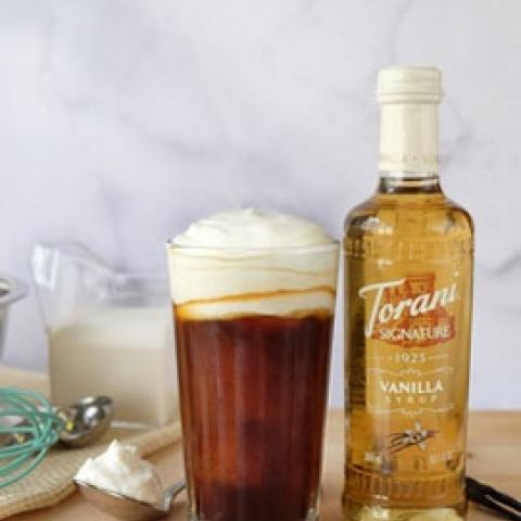 Torani Signature Vanilla Whipped Cream