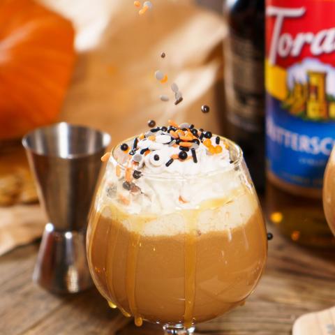 Butterscotch Spiked Coffee