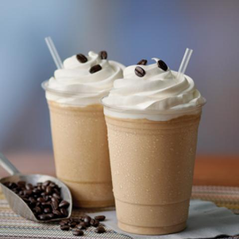 Vanilla Frappé (with espresso)