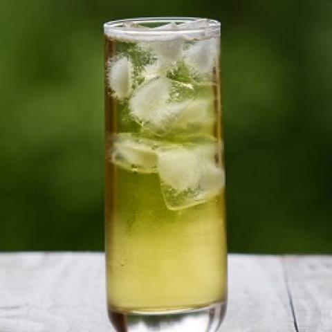Lychee Iced Green Tea