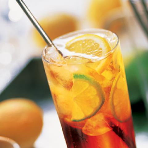 Lemon Raspberry Sweet Tea