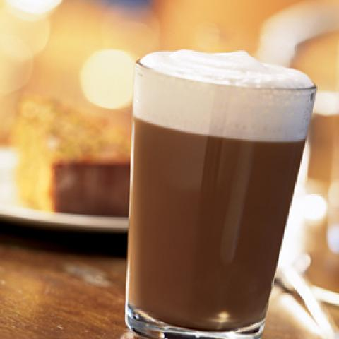 American Bandstand Black and Tan Caramel Latte