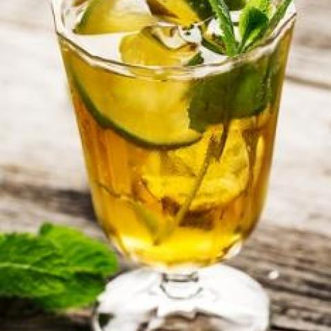 Sugar Free Lime Iced Tea