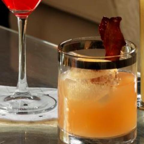 Bourbon Apricot Sour