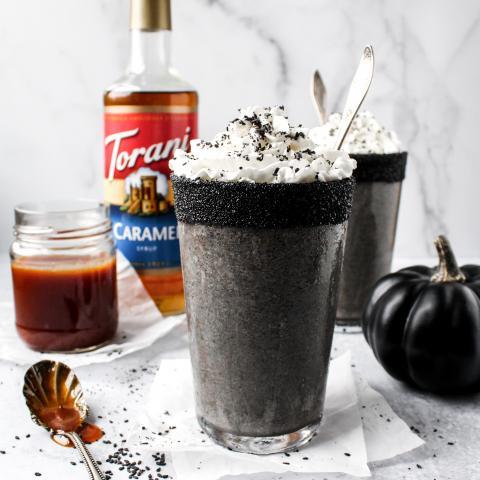 Boogeyman Black Sesame Caramel Frappe