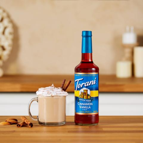 Sugar Free Cinnamon Vanilla Latte