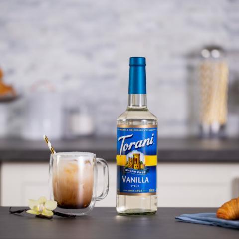Iced Sugar Free Vanilla Latte
