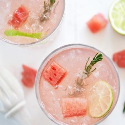 Watermelon Smash Low Carb Cocktail