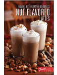 Nut Flavors/Holiday Table Tent (M1558)