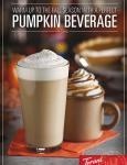 Pumpkin Pie/Pumpkin Beverages (M1660)
