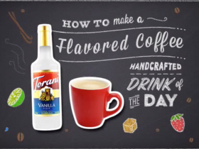 How To Make a Torani Flavored Brewed Coffee