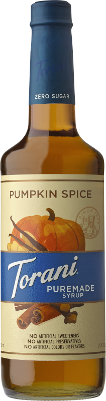 Puremade Zero Sugar Pumpkin Spice Syrup