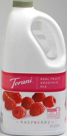 Raspberry Real Fruit Smoothie Mix