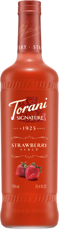 Strawberry Signature Syrup