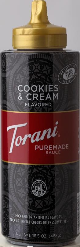 Cookies & Cream Sauce