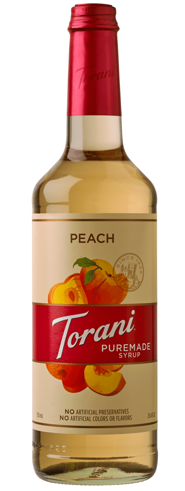 Peach Puremade Syrup