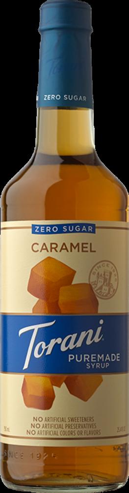 Puremade Zero Sugar Caramel Syrup