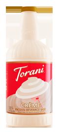 Crème Frozen Beverage Base