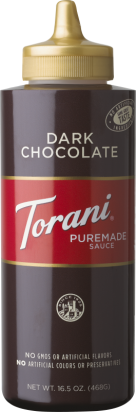 Puremade Dark Chocolate Sauce 16.5oz.