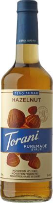 Puremade Zero Sugar Hazelnut Syrup