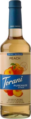 Puremade Zero Sugar Peach Syrup