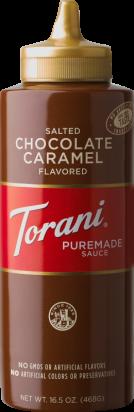 Salted Chocolate Caramel Sauce