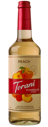 Peach Puremade Syrup
