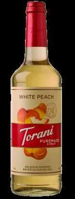 White Peach Puremade Syrup